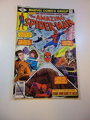 Amazing Spider-Man #195 2nd appearance of Black Cat FN+ condition
