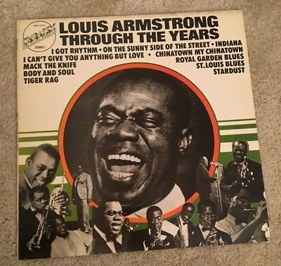 VINYL - Jazz - Louis Armstrong - Through The Years - LP