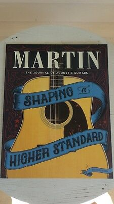 Martin The Journal of Acoustic Guitars #8 2018 Color Catalog Brand New Excellent
