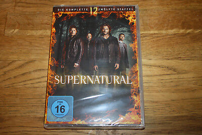 Dvd - Supernatural - Staffel 12 - 6 Disc´s - Neu & Ovp