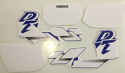Yamaha DT DTR 125 200 1988-2002 Decals Graphics Sticker Kit non oem