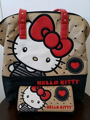 Loungelfy Hello Kitty Purse And Wallet Set