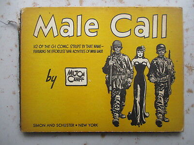 Male Call by Milton Caniff - 1945 Book of WWII Soldier Comic Strips