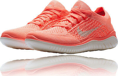 6bfbe9f4a33 Womens Nike FREE RN FLYKNIT 2018 Running Shoes -942839 801 run -Sz 8 -