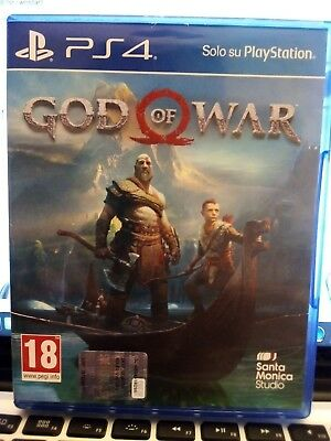 Ps4 Playstation 4 God Of War Supporto Fisico Nuovo Originale Italiano