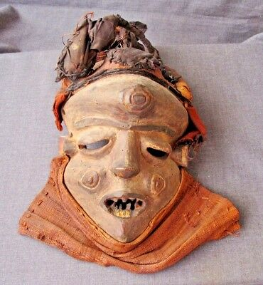 Old African Pende Mbuya Mask D R Congo