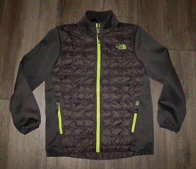 Boy's THE NORTH FACE Thermoball Hybrid Puffer Winter Jacket Coat Medium 10/12