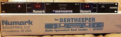 Numark The Beatkeeper BCM125 DJ Audio Synchronized Beat Counter Synchronizer