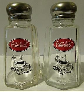 A Nice Set of Peterbilt Truck Salt & Pepper Shakers