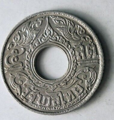 1941 THAILAND 5 SATANG - AU - SCARCE Silver Exotic Coin - Lot #J17