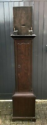 Antique Oak Colchester Longcase Clock Case - No Parts 180 x 36 x 22cm Approx