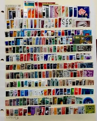 Worldwide Stamps  #240 All Different Before 1980 Lot 11719D