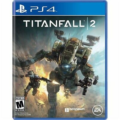 PS4 Titanfall 2 NEW Sealed REGION FREE USA Game