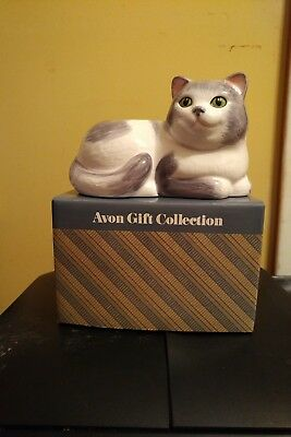 Avon Ceramic Cat Planter