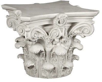 "Corinthian Capital 16"" ancient Greek Hellenistic Roman reproduction"