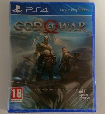 God of War PS4 (2018) *BRAND NEW SEALED*