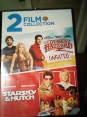 The Dukes of Hazzard (DVD, 2005, Unrated, Full Frame Edition) with Starsky & Hu