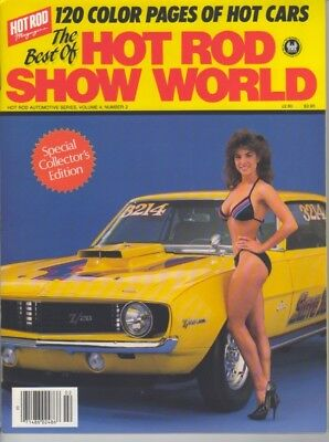 The BEST of Hot Rod Show World 1986 Swimsuit Bikini Collector Edition Vol 4 No 2