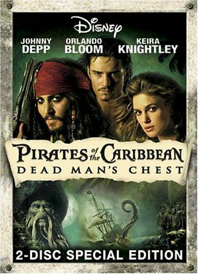 Pirates of the Caribbean: Dead Man's Chest (DVD, 2-Disc Collector's Edition) NEW