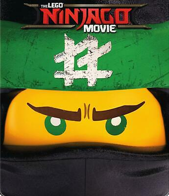 The Lego Ninjago Movie Steelbook (Blu-RayDVD, 2018)