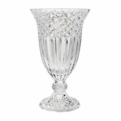 Waterford Crystal Limited Edition Footed Vase - Inspired by Jorge Perez