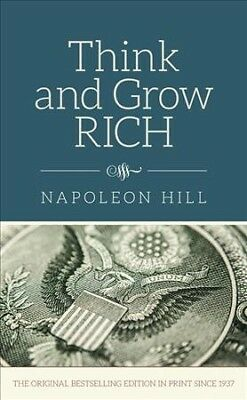 Think & Grow Rich, Hardcover by Hill, Napoleon, ISBN-13 9780785833529 Free sh...