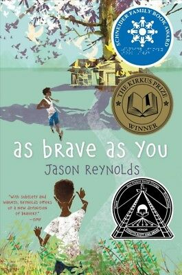 As Brave As You, Paperback by Reynolds, Jason, Like New Used, Free shipping i...