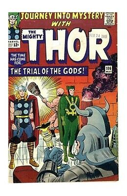 Journey into Mystery with The Mighty Thor #116 The Trial of the Gods FN/VF FINE+