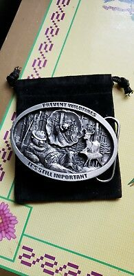 SMOKEY'S  BUCKLE.2018 Quality  Pewter Numbered  Belt buckle. A tradition ..