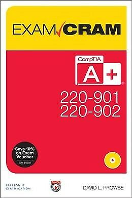 CompTIA A+ 220-901 and 220-902 Exam Cram, Paperback by Prowse, David L., ISBN...