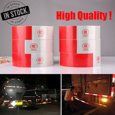 """2""""x150' Reflective Conspicuity Tape Safety Strip Sticker Vehicle Roll Truck"""