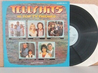 TELLY HITS The Best of 80s TV Soundtrack Theme LP Dallas/Eastenders/Eric Clapton