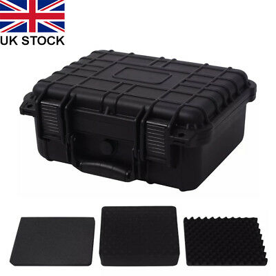 Protective Equipment Plastic Box Hard Carry Case Camera Travel Protect  3 Sizes