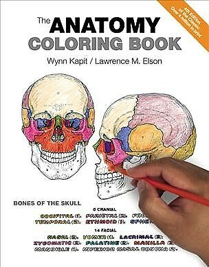 Anatomy Coloring Book, Paperback by Kapit, Wynn; Elson, Lawrence M., ISBN 032...