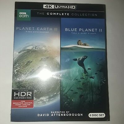 Planet Earth II & Blue Planet II: The Complete Collection (4K Ultra HD Blu-Ray)
