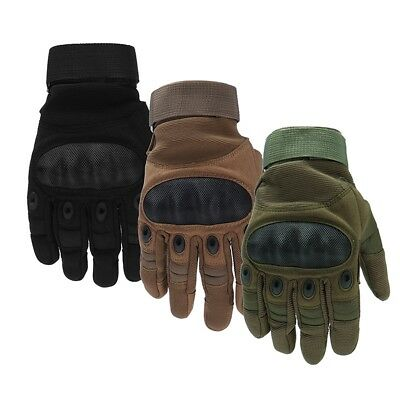 Full Finger Gloves Motorcycle Cycling Outdoor Hiking Camping Winter Touchscreen