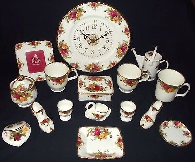 Royal Albert OLD COUNTRY ROSES 16 Assorted Pieces - JOB LOT