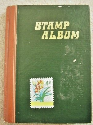 old stamp Collection,hundreds of stamps,worldwide,antique,14 album pages