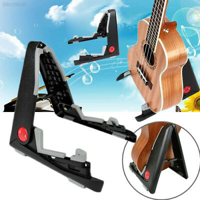 495D Universal Aroma AGS-01 Universal Black Folding Guitar Stand