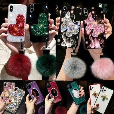 Bling Glitter Sparkly TPU Case Cover For Apple iPhone X XS XR Max 10 8 7 6s 6