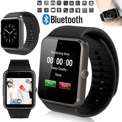 GT08 Smart Watch Tracker Phone & Camera Bluetooth Apple & Android Compatible UK