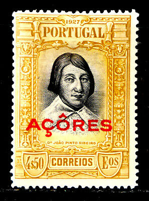 Azores, Portugal: 1927 Classic Era Mint Never Hinged Stamp Scott #283 Sound