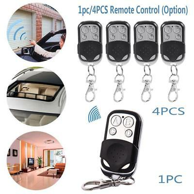 Universal Remote Control 433mhz Electric Channel Gate Garage Door Opener Key