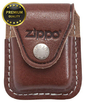 Zippo Pouch With Clip - Brown
