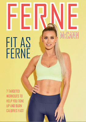 Fit As Ferne DVD (2018) Ferne McCann ***NEW***