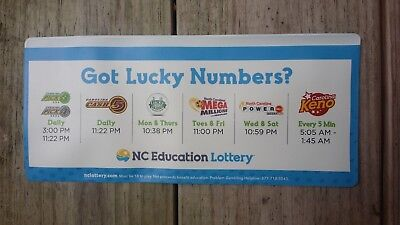 LOTTERY TICKET HOLDER - Got Lucky Numbers ?