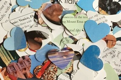 Wedding Table Heart Confetti/Decor/Scatters - Italy Travel/Holiday Brochures