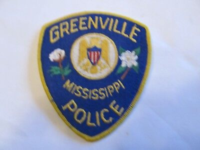 Mississippi Greenville Police Patch