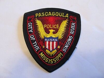 Mississippi Pascagoula Police Patch