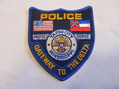 Mississippi Yazoo City Police Patch